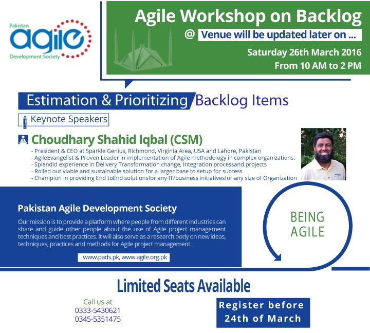 ISB:2016-03-26:1st Workshop Estimation & Prioritizing Backlog Items