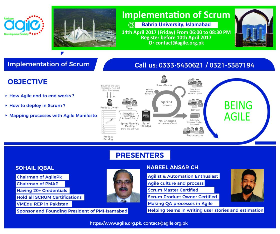 ISB:2017-04-14:Workshop - Implementation of SCRUM